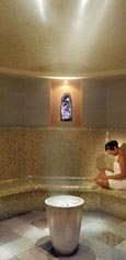 Amythest Crystal Steam Room, SPA-центр отеля 'Mandarin Oriental New York', Нью-Йорк
