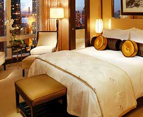Номер Deluxe Hudson River View в отеле 'Mandarin Oriental New York', Нью-Йорк